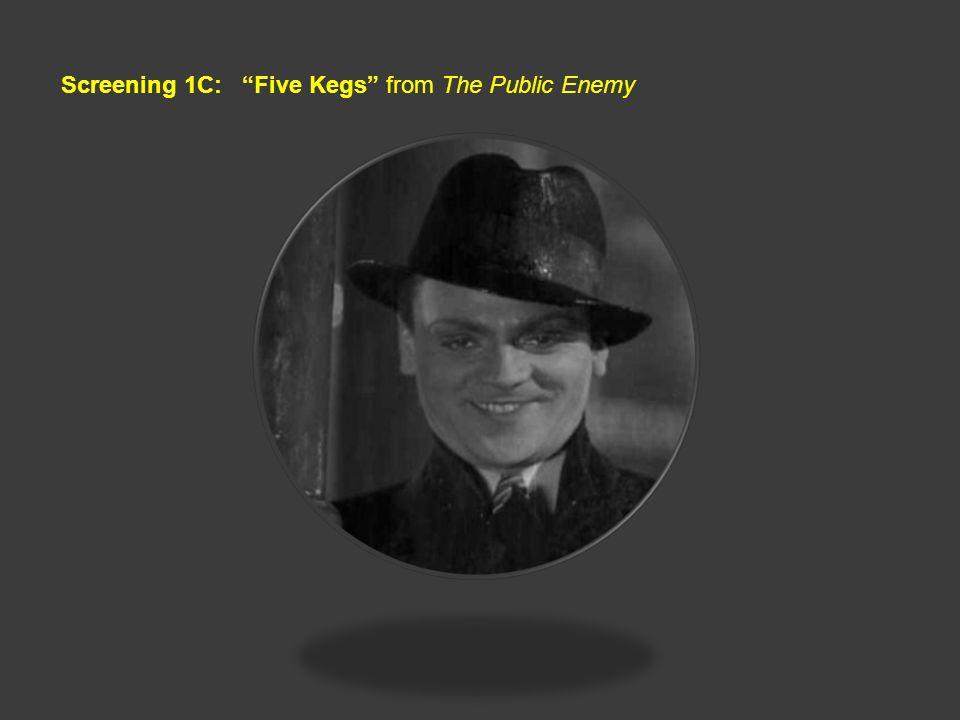 Screening 1C: Five Kegs from The Public Enemy