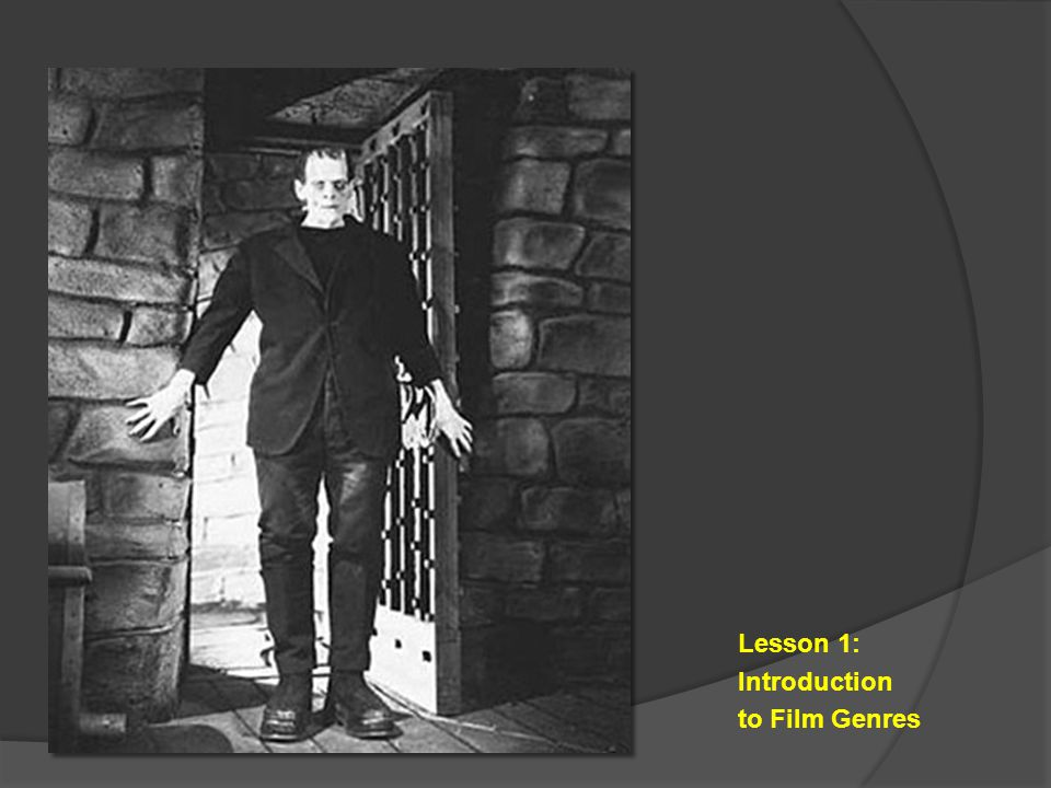 Lesson 1: Introduction to Film Genres