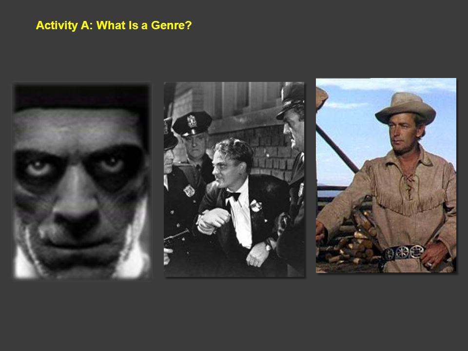 Activity A: What Is a Genre