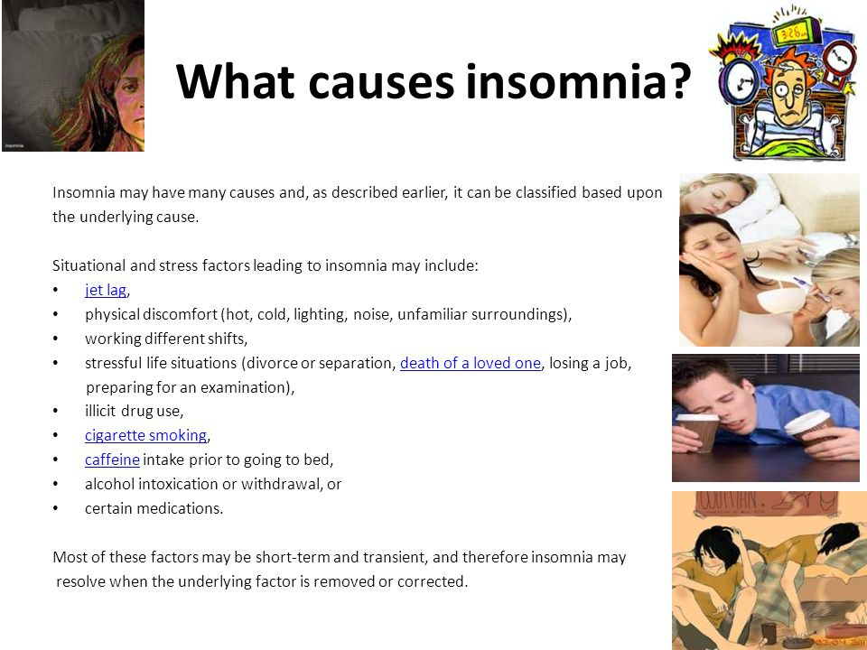 What are the symptoms of insomnia.