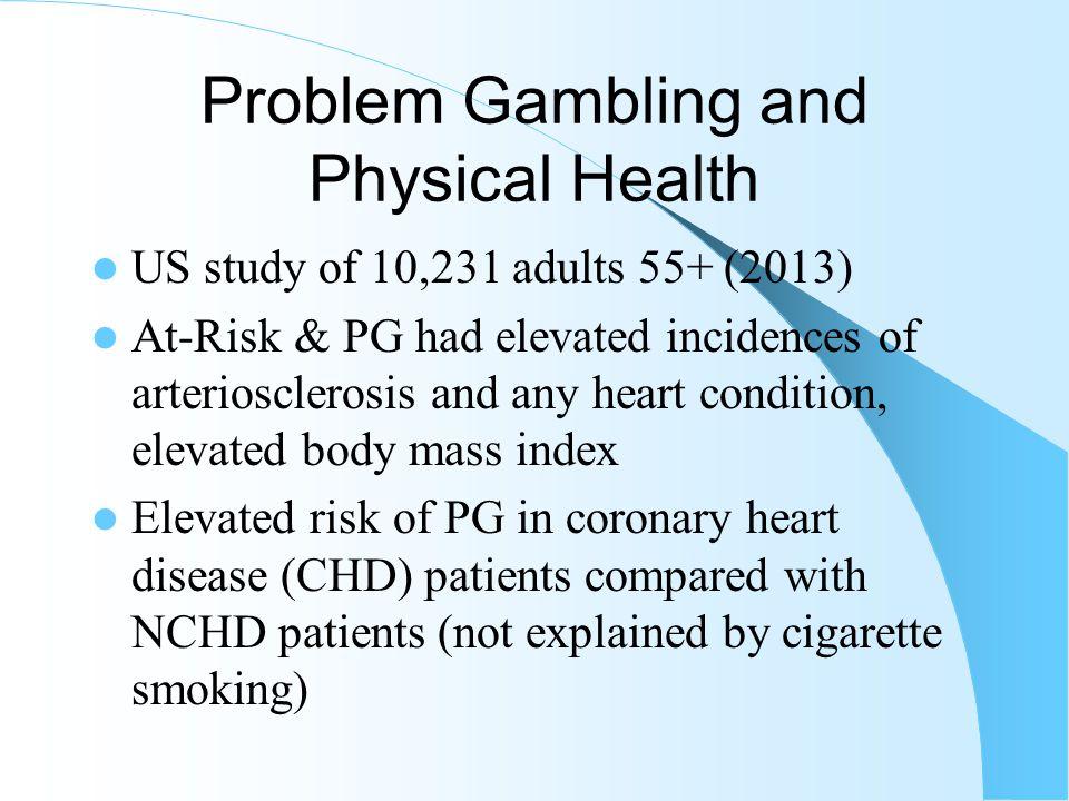 Inpatient Hospitalization Among Gamblers (Indiana, 1998)