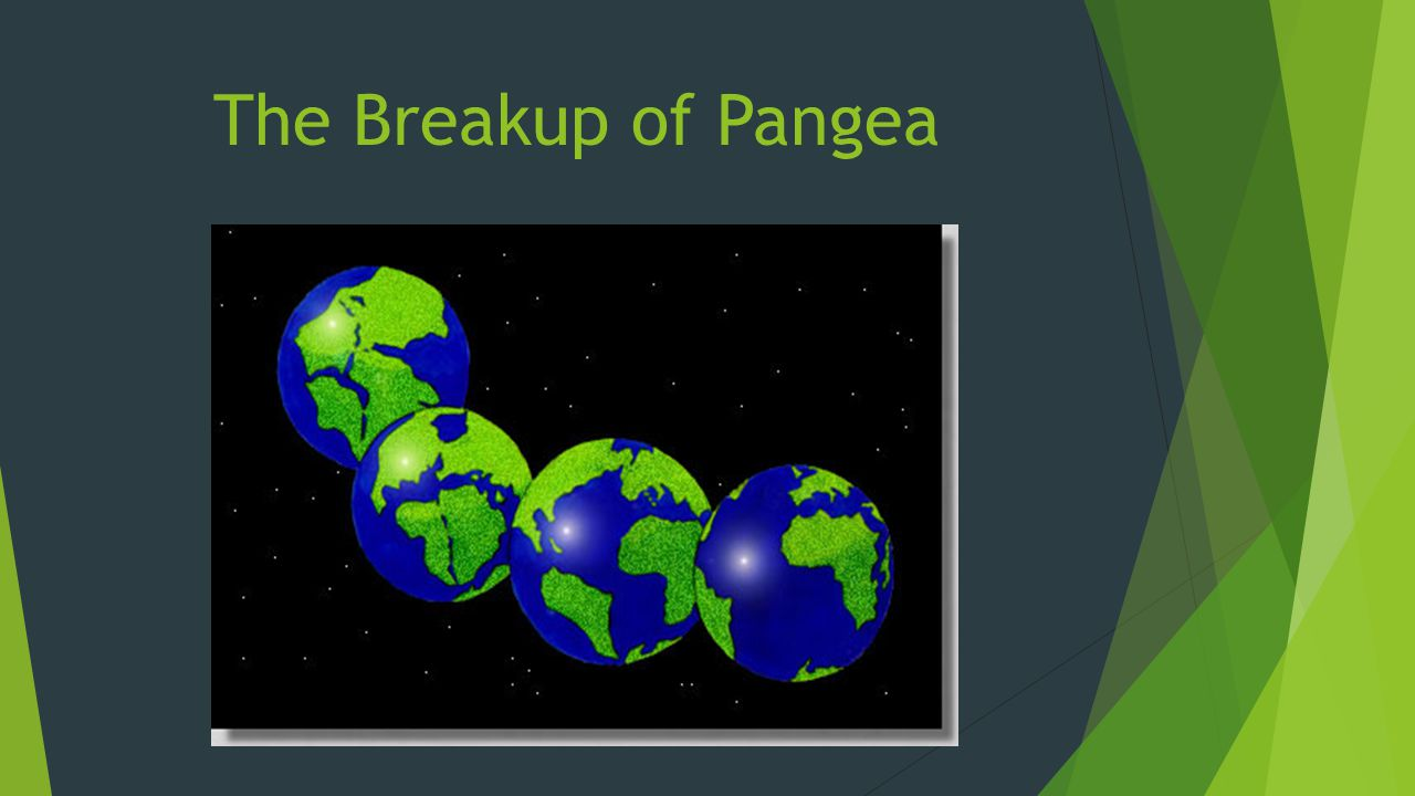 The Breakup of Pangea