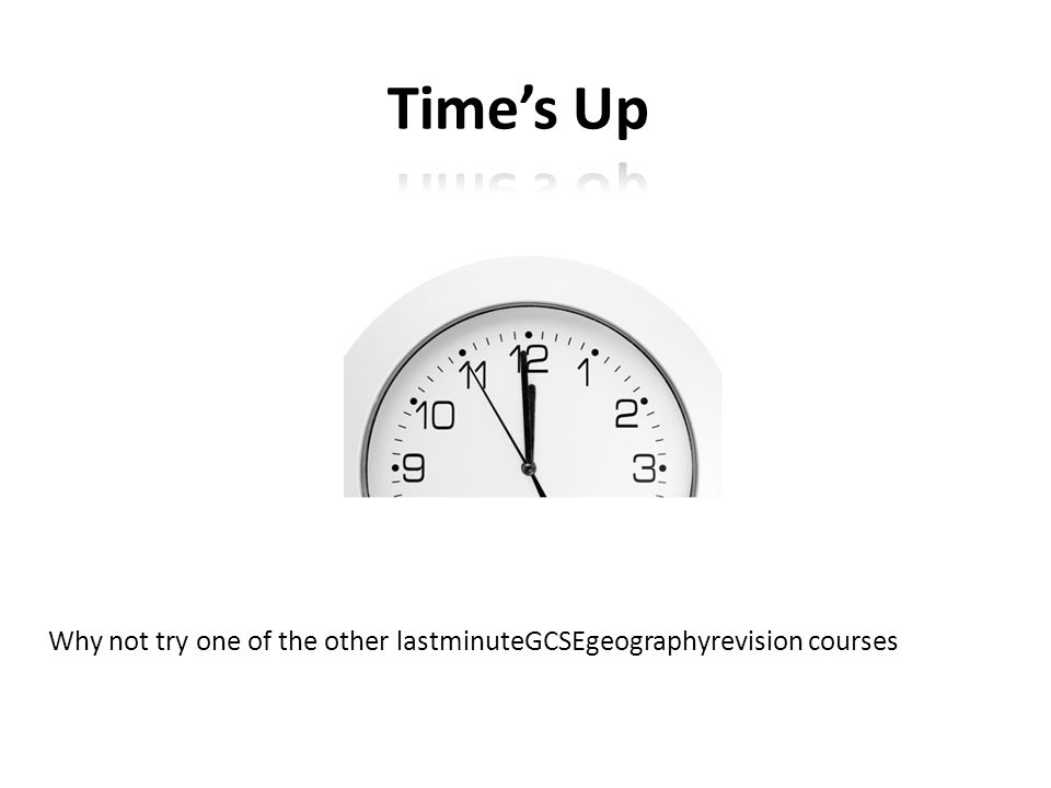 Why not try one of the other lastminuteGCSEgeographyrevision courses