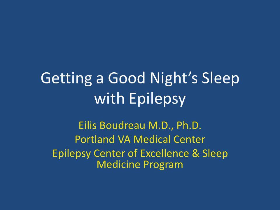 Sleep Apnea and Epilepsy Treatment of sleep apnea may improve seizure control