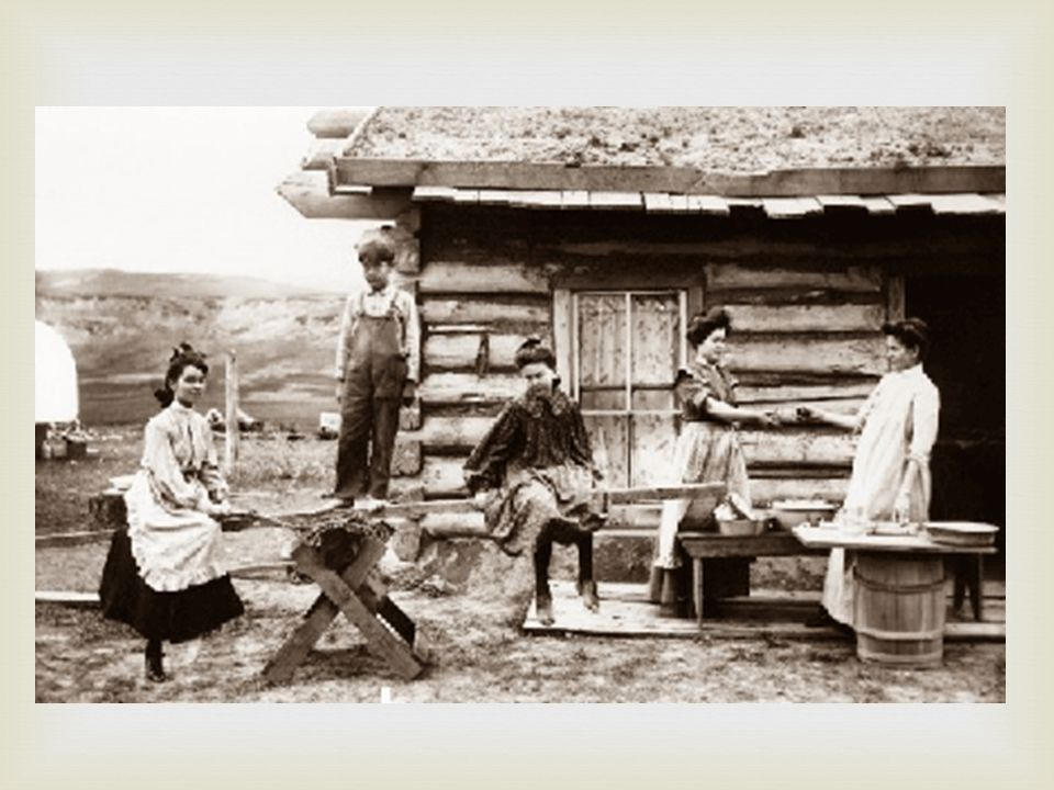   Homesteaders flocked to the grasslands and were certain that this was the place to settle down.