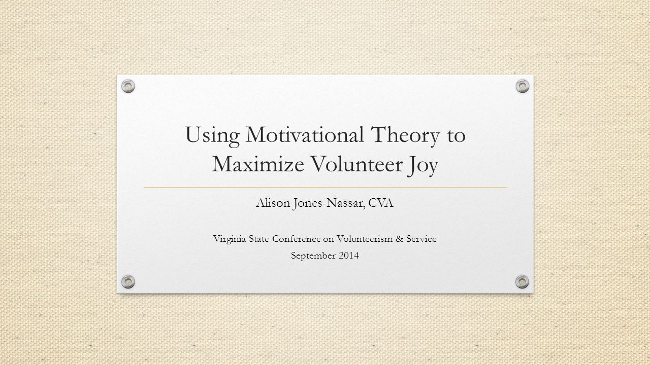 Resource: Visionary Leadership in Volunteer Programs: Insight and Inspiration from the Speeches of Marlene Wilson 2008