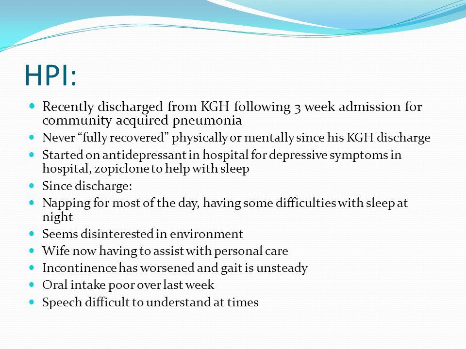 Questions  What risk factors does Mrs. E.B. have for postoperative delirium?