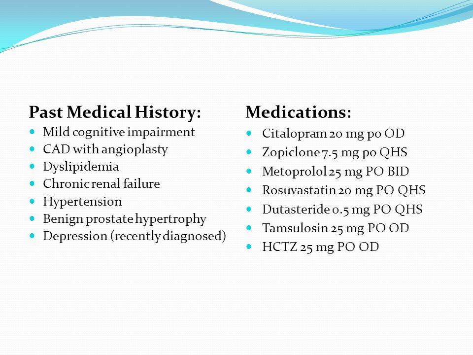 Postoperative Delirium  Outcomes associated with postoperative delirium:  Functional decline: OR = 2.0  ↑ hospital length of stay  Mortality: OR = 2.4 Surgical ProcedureIncidence Orthopedic30 – 50% Cardiac20 – 50% General surgery18% Urologic5 – 10%
