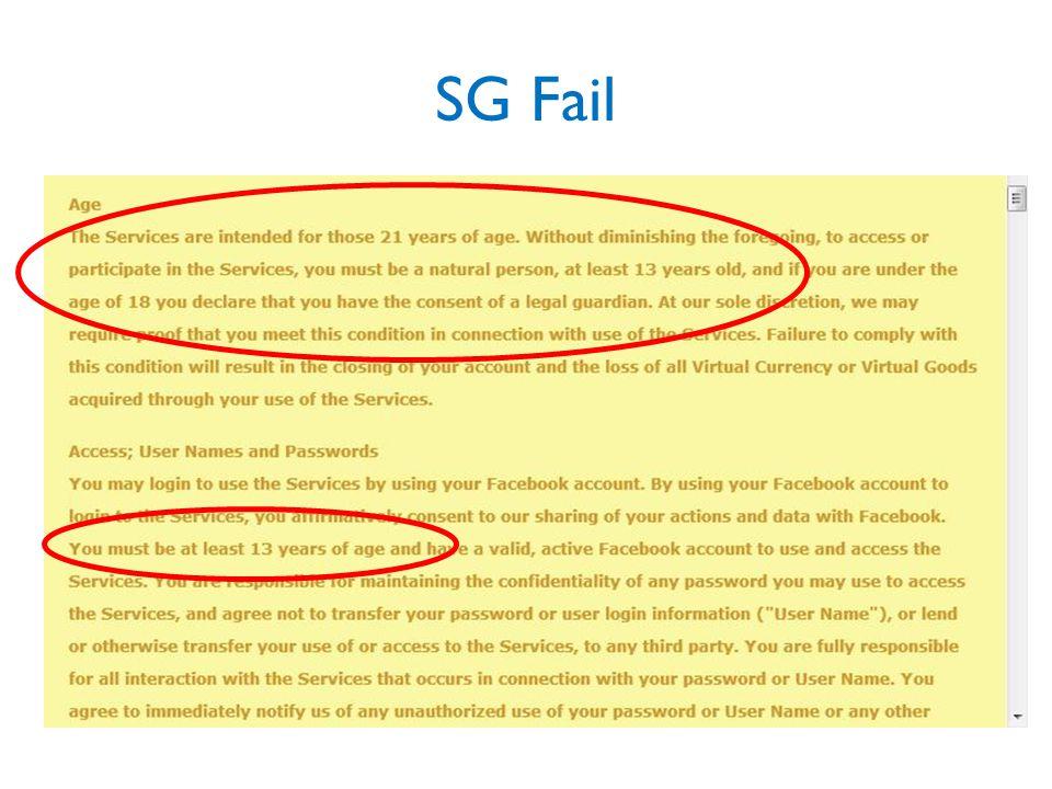 SG Fail