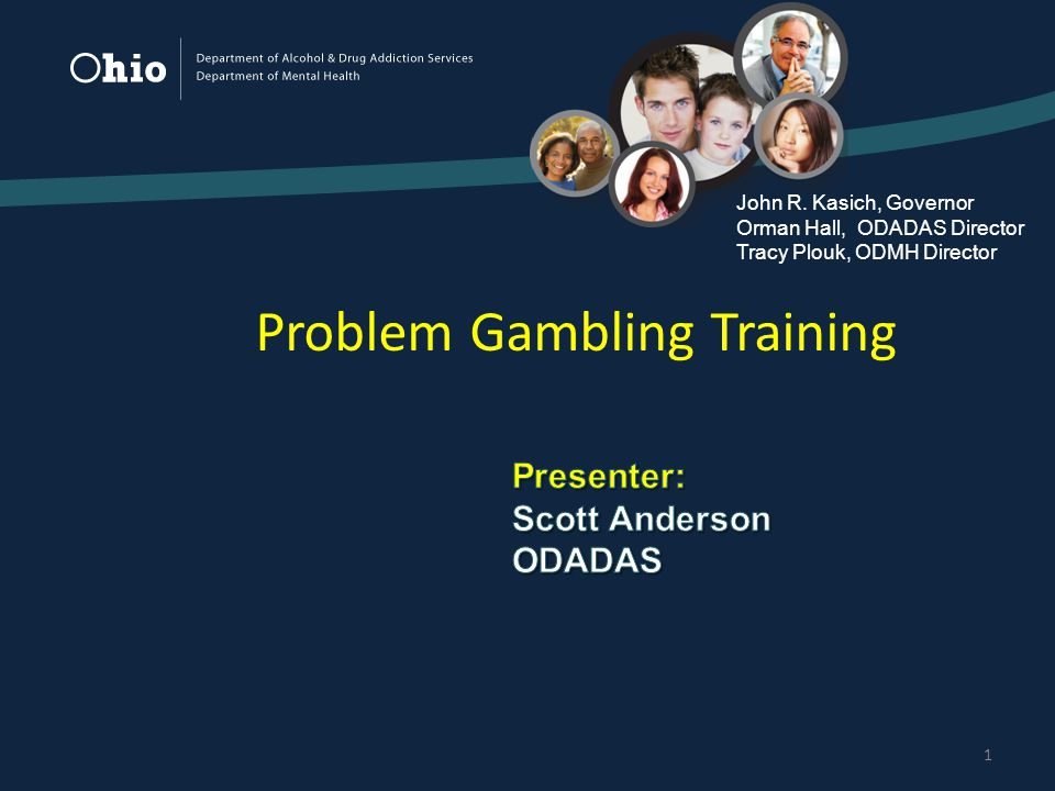 1 Problem Gambling Training John R.