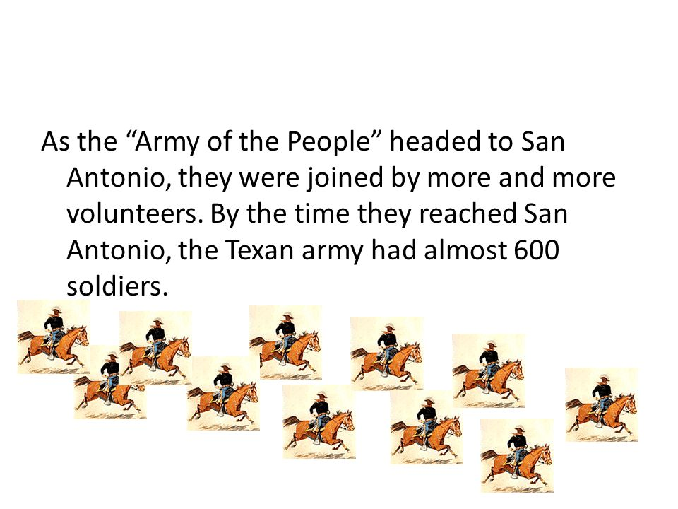 The Mexican troops led by General Cos retreated further into San Antonio after a small battle with the Texans at Mission Concepci Ó n.