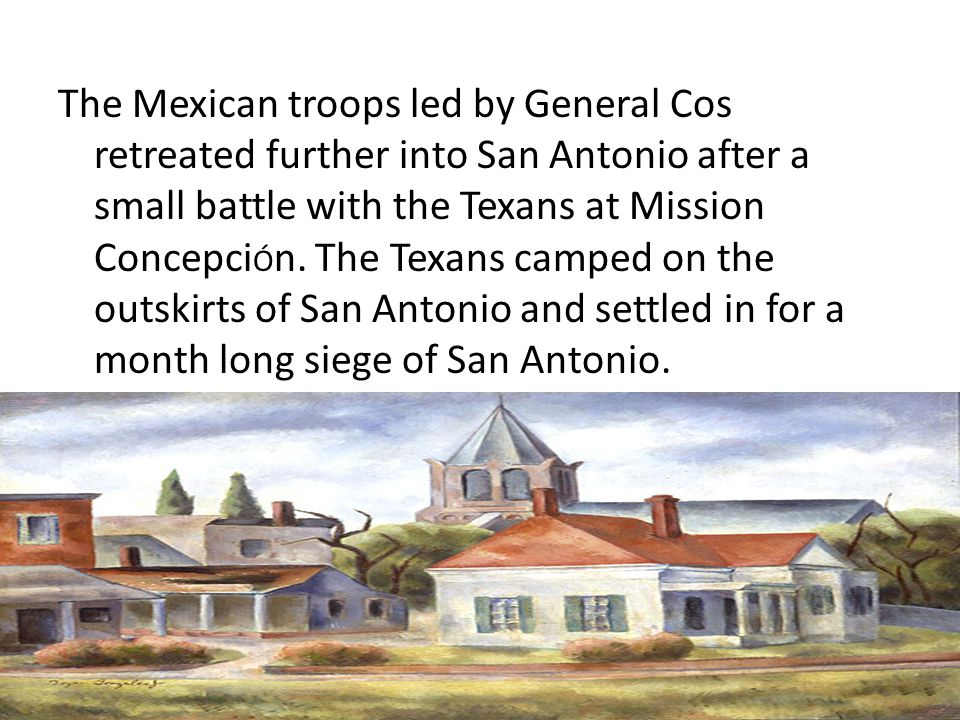 As the siege continued, many Texan soldiers left to go home.