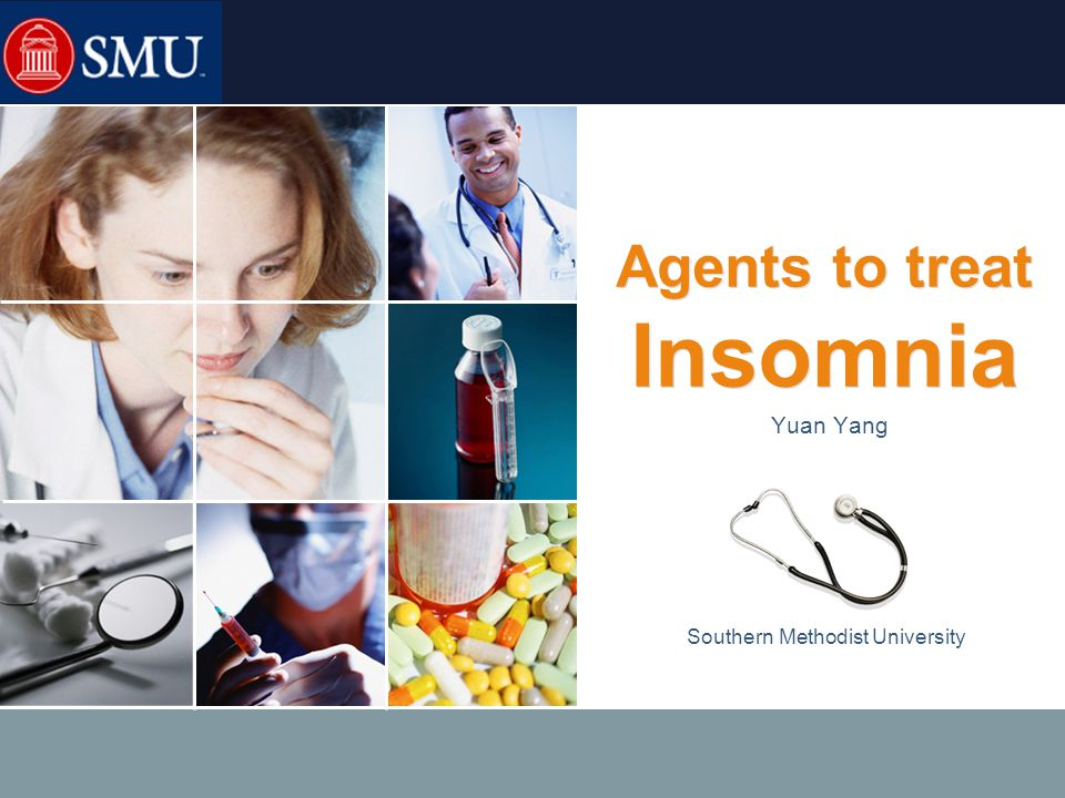 LOGO Causes and co-morbidities Causes of chronic insomnia include:  Depression and/or anxiety.