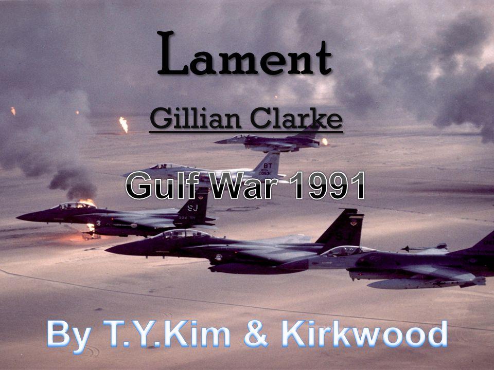 Lament Gillian Clarke