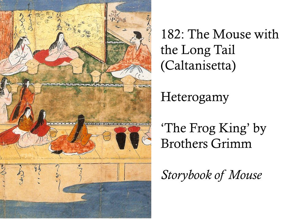 182: The Mouse with the Long Tail (Caltanisetta) Heterogamy 'The Frog King' by Brothers Grimm Storybook of Mouse
