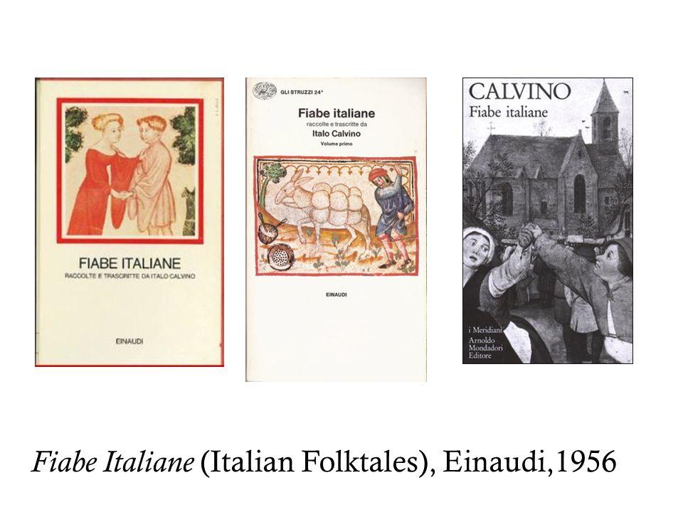 Fiabe Italiane (Italian Folktales), Einaudi,1956