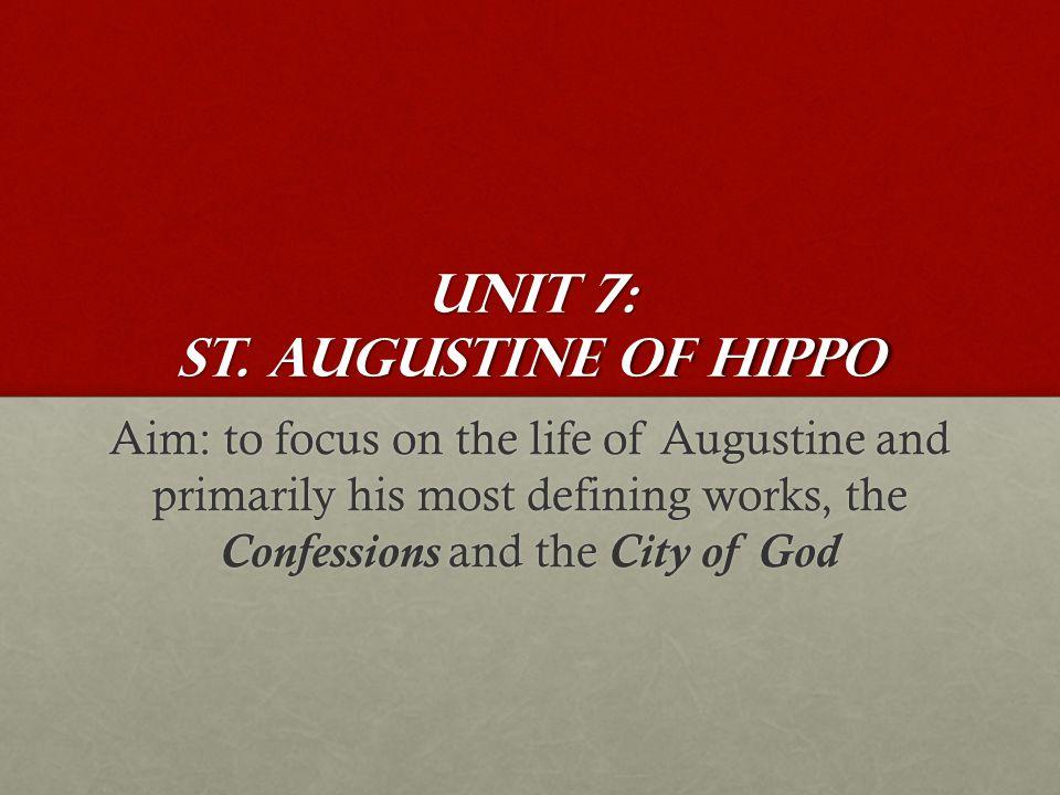 Unit 7: St.