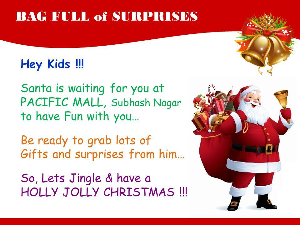 BAG FULL of SURPRISES Hey Kids !!.