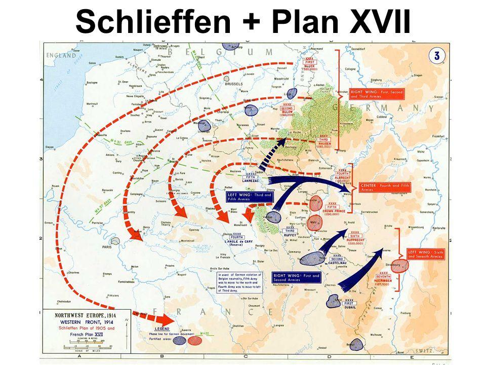 Schlieffen + Plan XVII