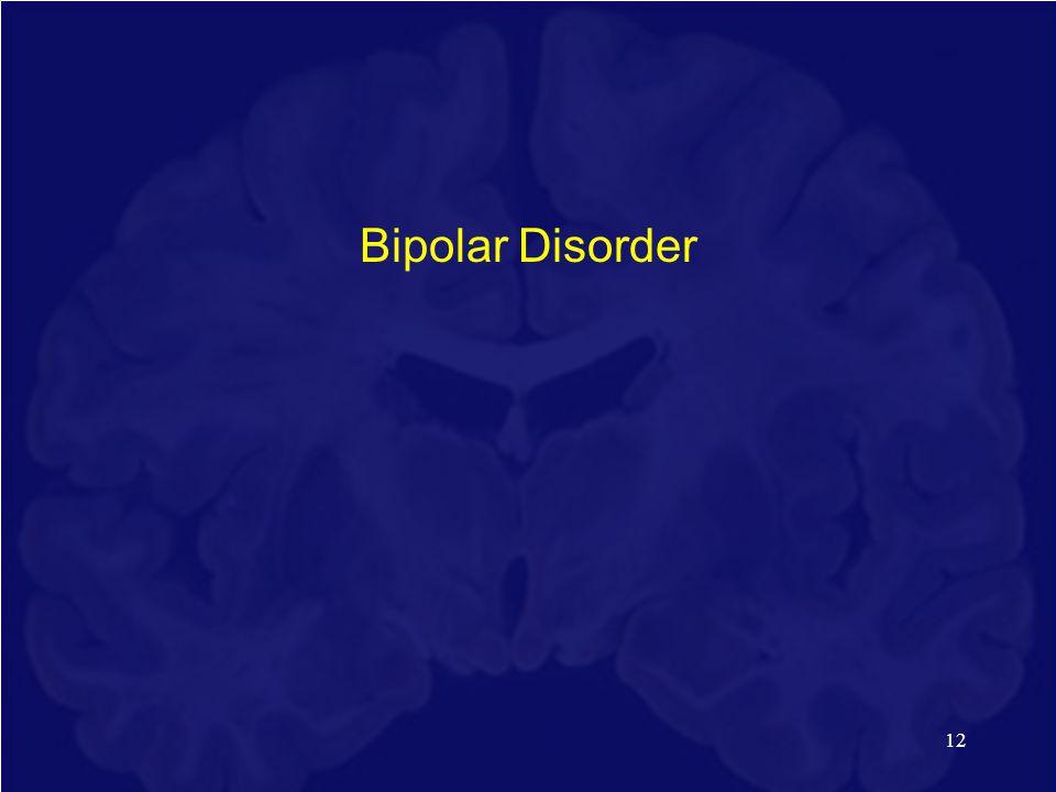 12 Bipolar Disorder