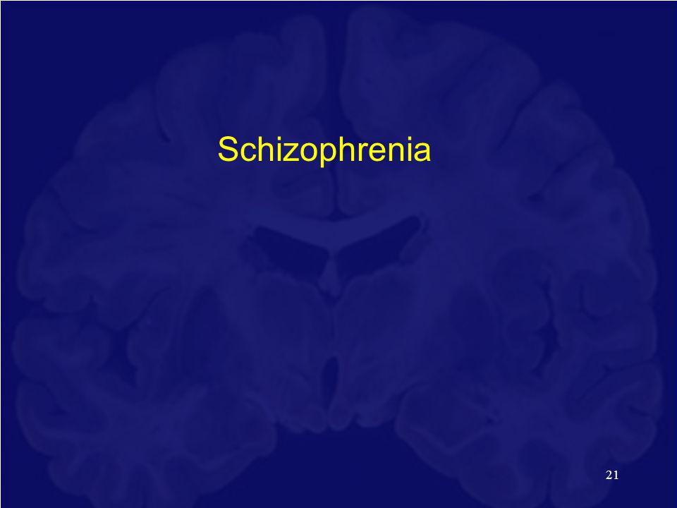 21 Schizophrenia