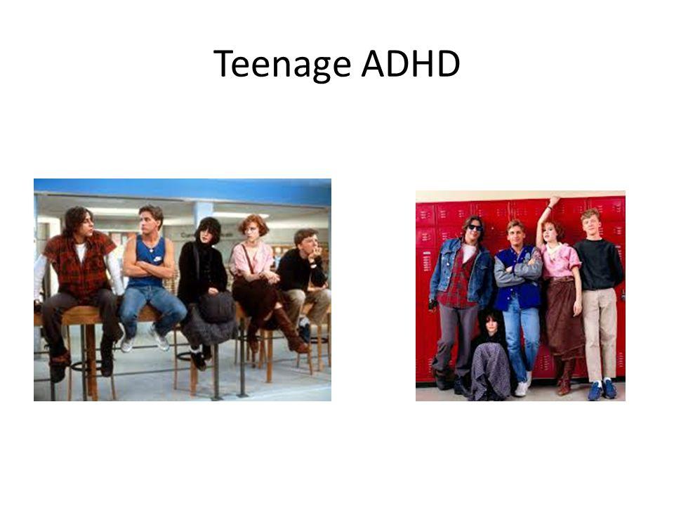 Teenage ADHD