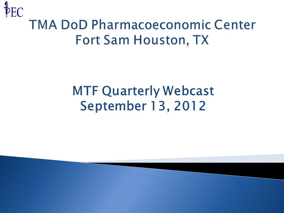 MTF Quarterly Webcast September 13, 2012