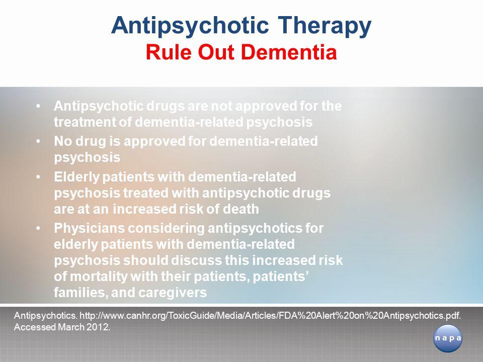 Antipsychotics.