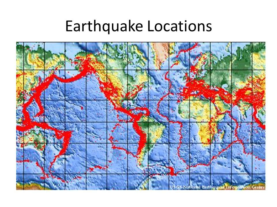 Earthquake Locations