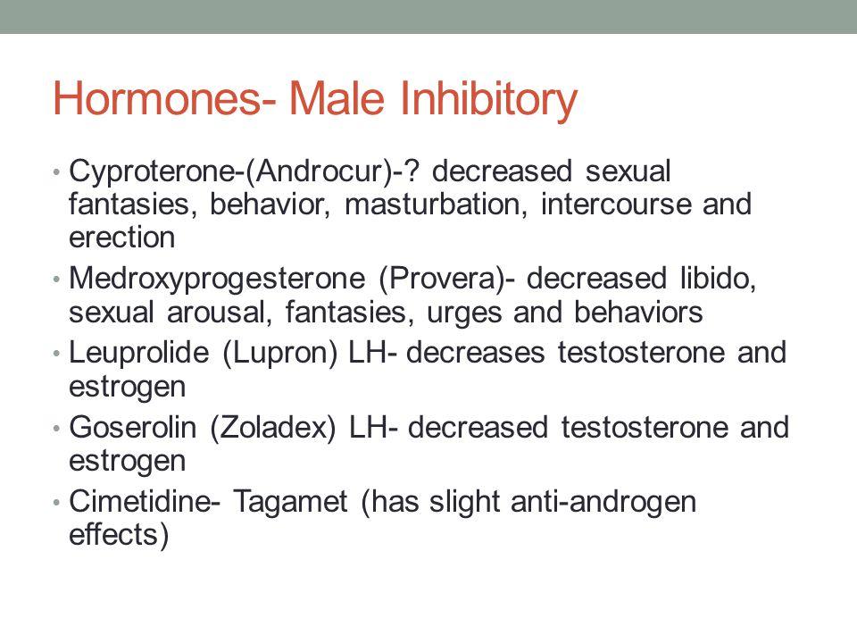 Hormones- Male Inhibitory Cyproterone-(Androcur)-.