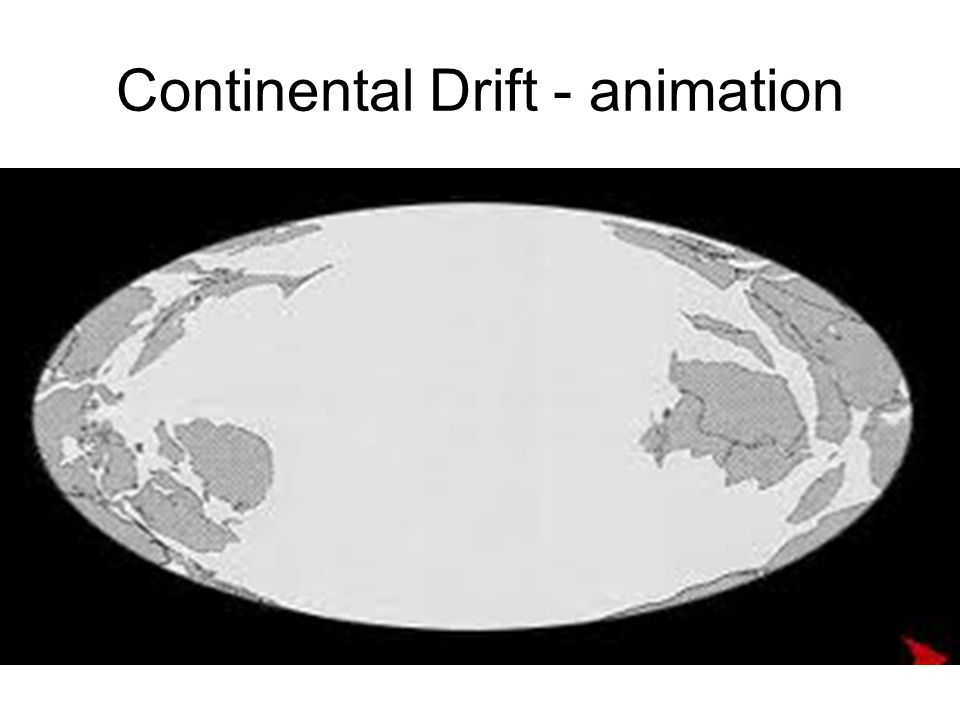 Continental Drift - animation