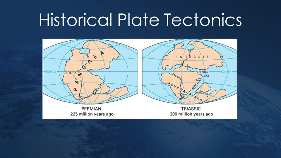 Types of Plates Oceanic PlatesContinental Plates Newer – most less than 200 million years old Older – Most over 1500 million years old DenserLess dense Can sinkCannot sink Can be renewed or destroyedCannot be renewed or destroyed