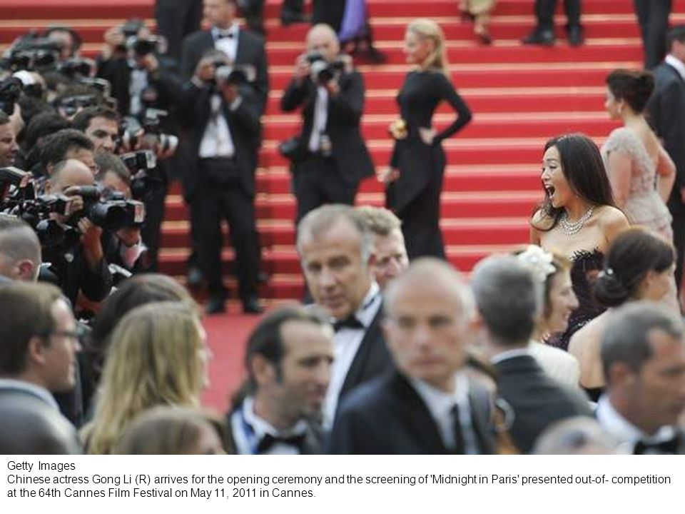 Getty Images - CANNES, FRANCE - MAY 11: Gong Li (R) attends the Opening Ceremony at the Palais des Festivals during the 64th Cannes Film Festival on May 11, 2011 in Cannes, France.