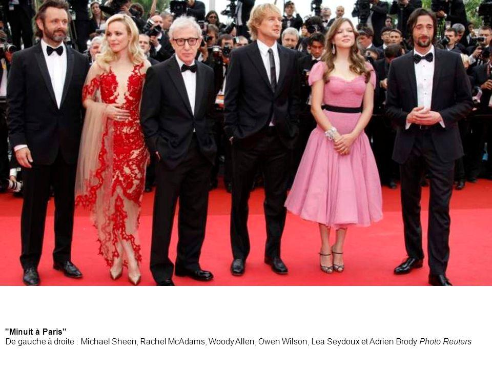 4. Lea Seydoux et Woody Allen Photo Reuters