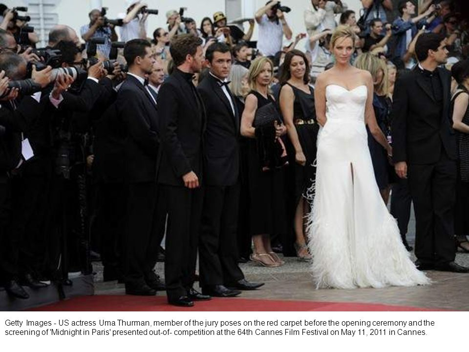 Getty Images - CANNES, FRANCE - MAY 11: Tiziana Roccas attends the Opening Ceremony at the Palais des Festivals during the 64th Cannes Film Festival on May 11, 2011 in Cannes, France.
