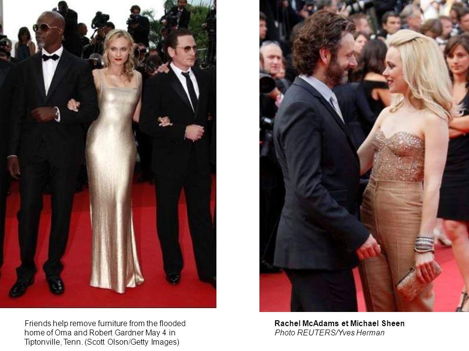 Diane Kruger Au lendemain de l'ouverture du 64ème Festival de Cannes, l équipe de Sleeping Beauty a monté les marches du Palais pour assister à la projection du film.