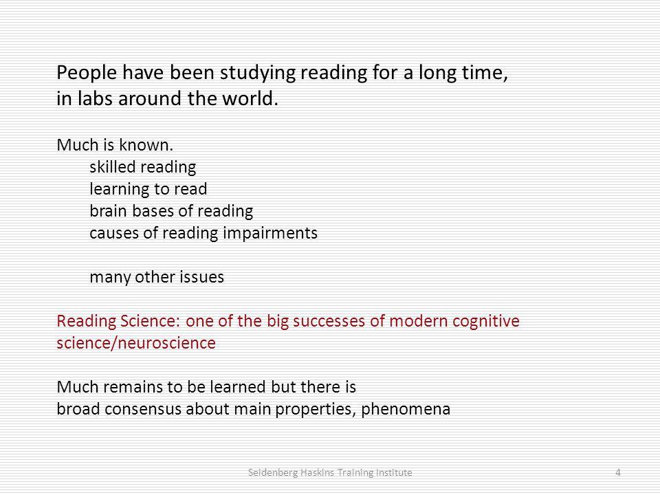 Neuroimaging evidence 1.