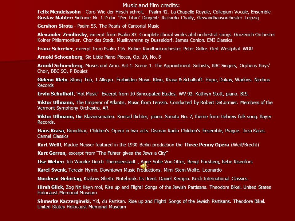 Music and film credits: Felix Mendelssohn - Coro Wie der Hirsch schreit' - Psalm 42.