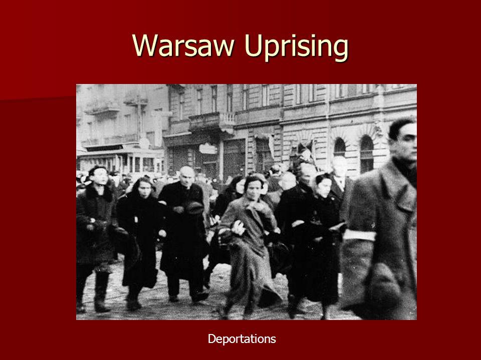 Warsaw Uprising Deportations