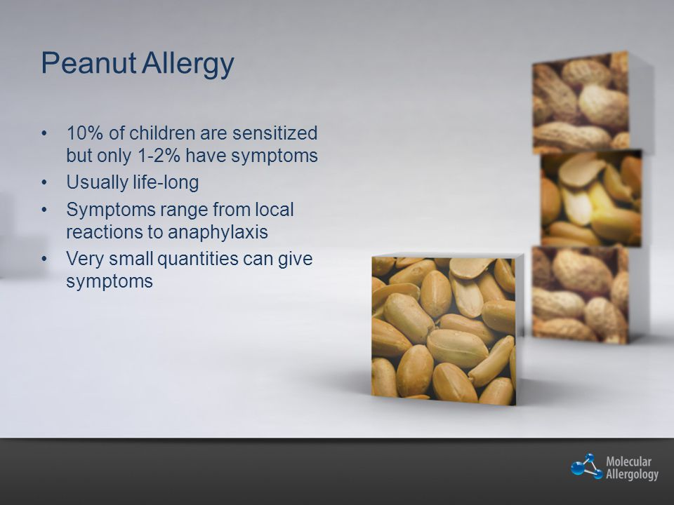 Doctor s challenges Is it a genuine peanut allergy or are the symptoms caused by cross reactivity.