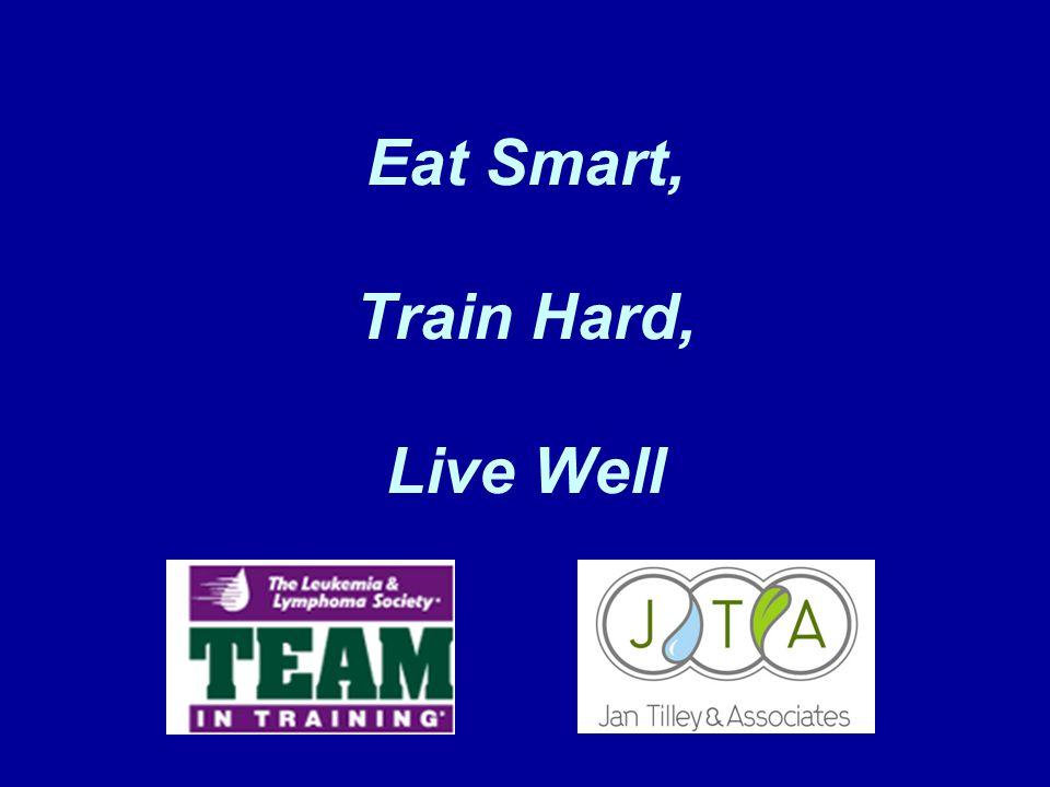 Eat Smart, Train Hard, Live Well