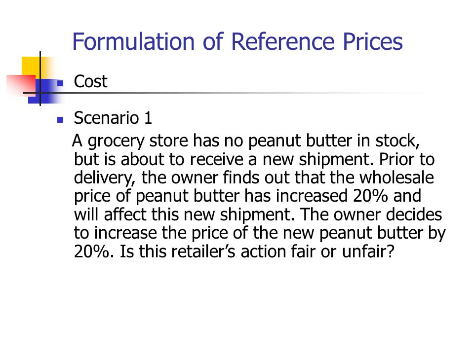 Implications for Pricing Strategy Present price as opportunity forgone rather than outright loss (MasterCard) Present price difference as discounts from higher price rather than as premiums over lower price (Home Depot) Aggregate smaller losses with larger gains (Consulting) Segregate smaller gains from larger losses (Silver Lining Principle) (rebate)