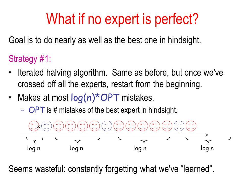 Why Regret Minimization.
