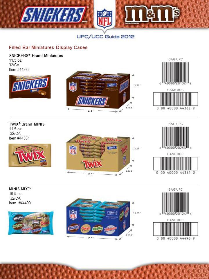 M&M'S ® Brand Milk Chocolate Candies Stackable Display Case 12.6 oz.