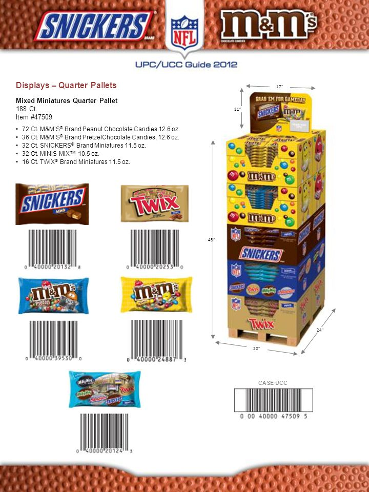 144 Ct.M&M'S ® Brand Peanut Chocolate Candies, 12.6 oz.