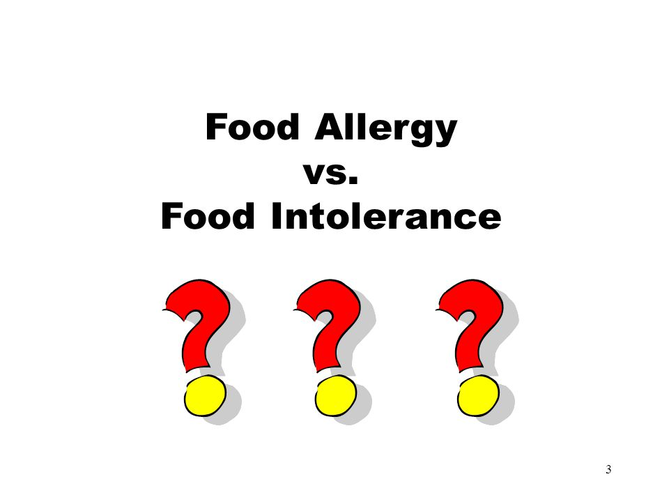 14 Food allergies can be life threatening.
