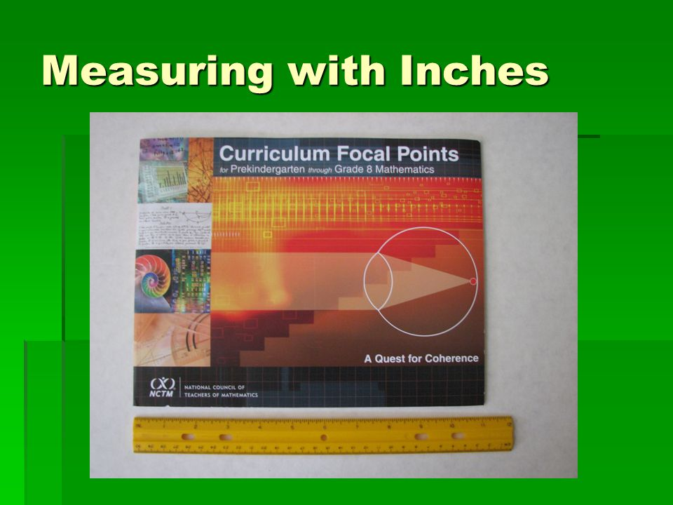 Measuring with Inches
