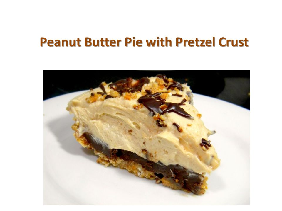 Prep Time: 30 minutes 30 minutes Yield: 10 servings Carbs: Carbs: 72.2 CaloriesCalories per serving: 923 Fat per serving: 66.4 Rich, creamy peanut butter pie with the extra luxury of caramel and chocolate ganache.