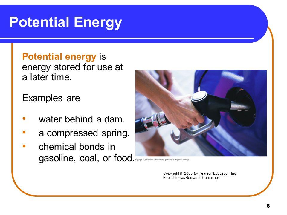 6 Kinetic Energy Kinetic energy is the energy of matter in motion.