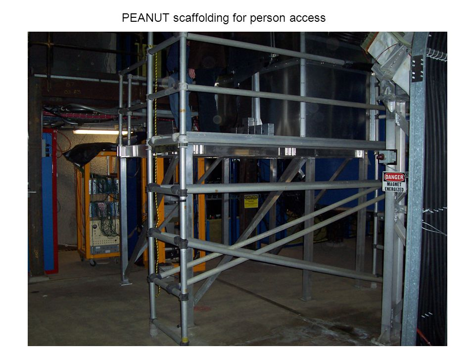 PEANUT scaffolding for person access